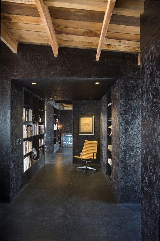 Painted OSB Walls - idea for garage walls. | NESTER ...