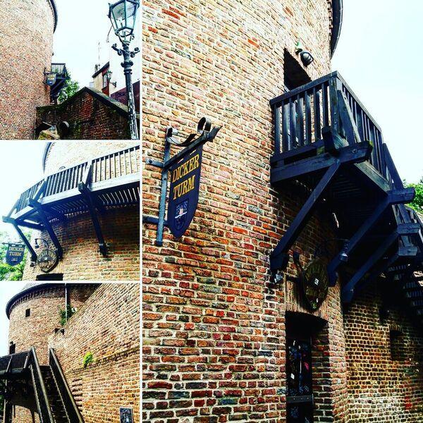 Dickerturm Stadtmauer Monchengladbach Reisen Travel Altstadt Ferienwohnung Urlaub Ferienwohnung Ferienhaus Ferien