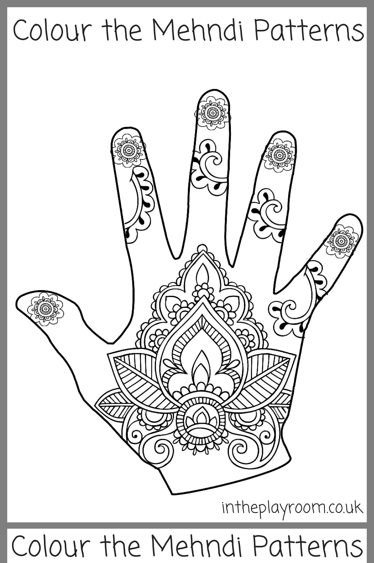 Pin By Jessica Peck On Domain Celebrations 2018 Mehndi Patterns Henna Design Printable Henna Designs Hand