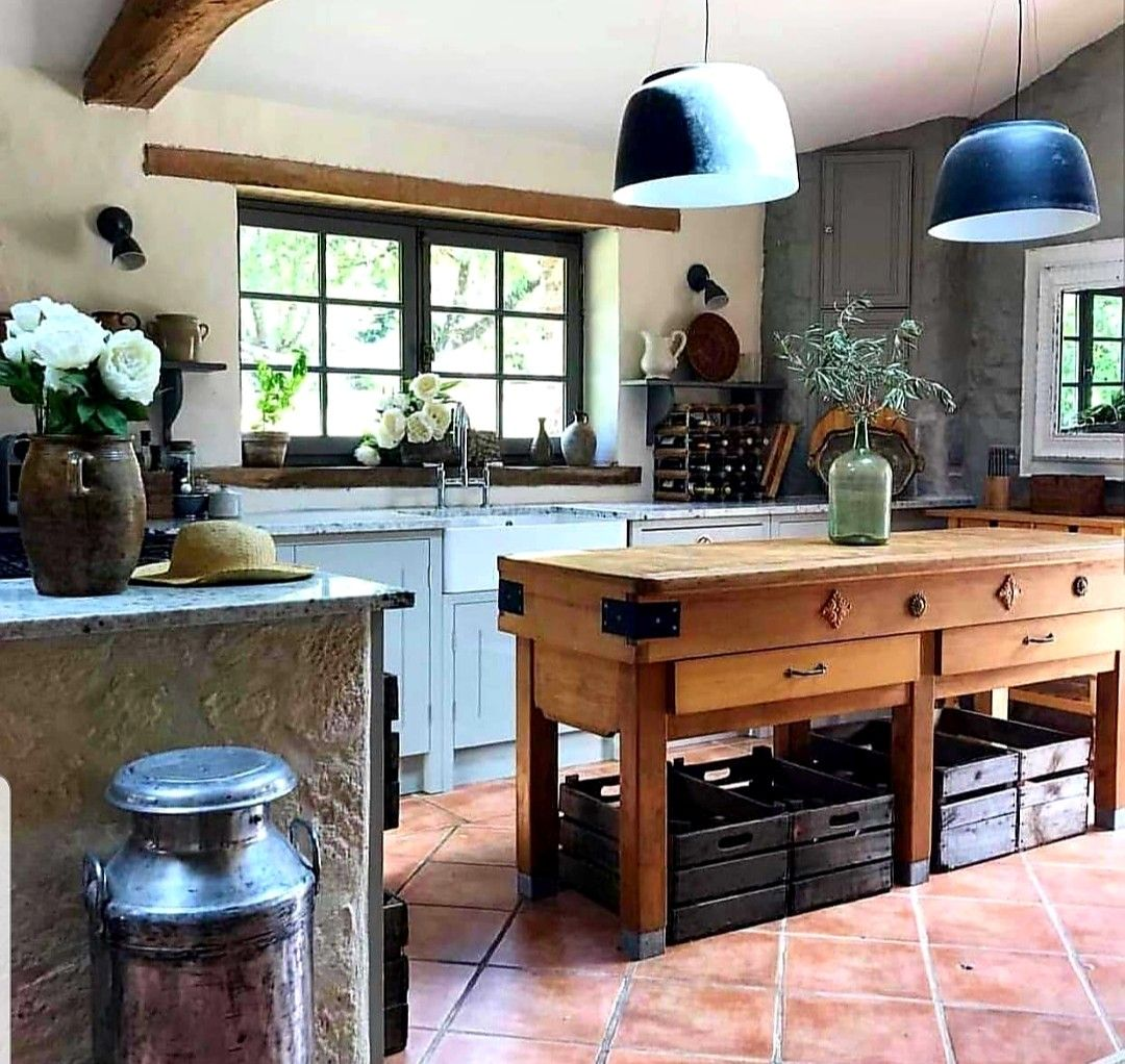 French country kitchen by Sherry Allnutt on Kitchen Ideas ...