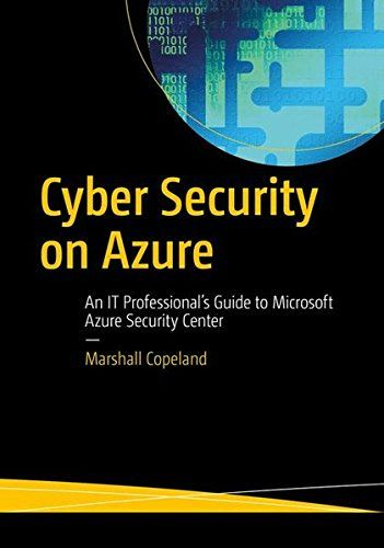 Cyber Security On Azure Pdf Download Programming Ebooks It