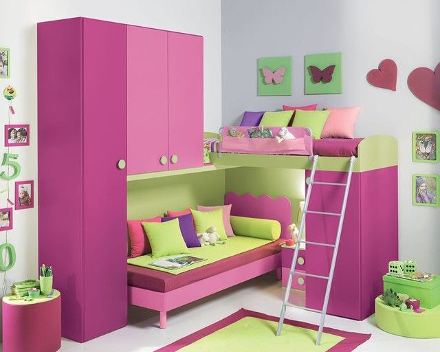 Interior Bedroom Furniture Girls modern kids furniture girls bedroom new york