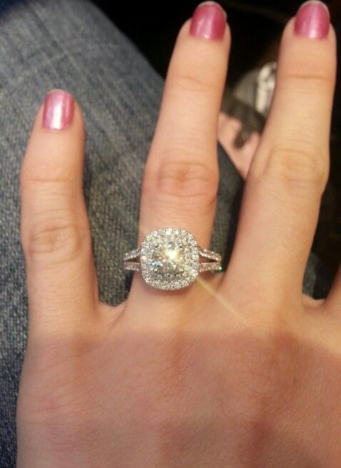 Vera Wang engagement ring. So beautiful. The most ...