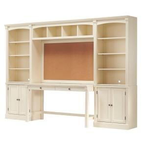 Home Decorators Collection Edinburgh 7 Piece Ivory Office Suite 3062400410 At The Depot