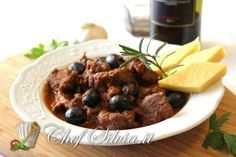 Photo of Wild boar stewed with olives