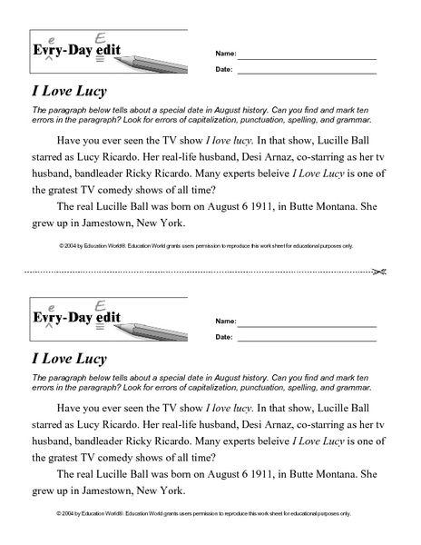 everyday vs every day worksheet pdf