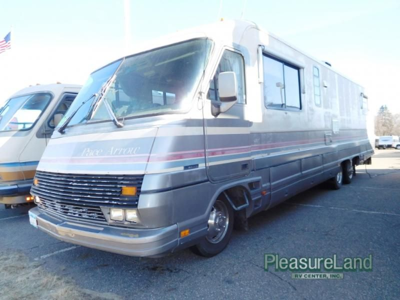 Used 1990 Fleetwood Rv Pace Arrow 37j Motor Home Class A At