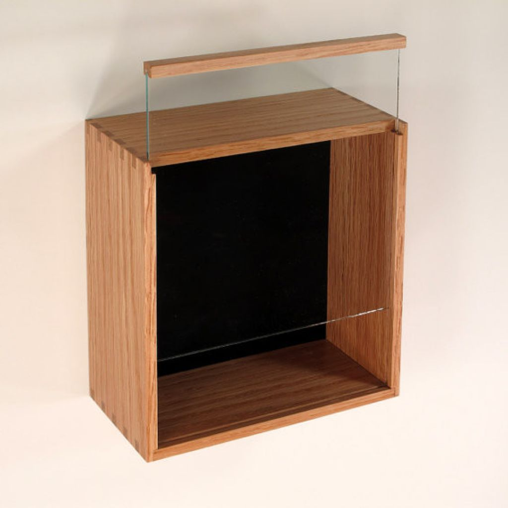 Simple Glass Display Case Shadow Box Design With Slide Up Model For The Picture Glass Display Case Glass Display Box Easy Frame