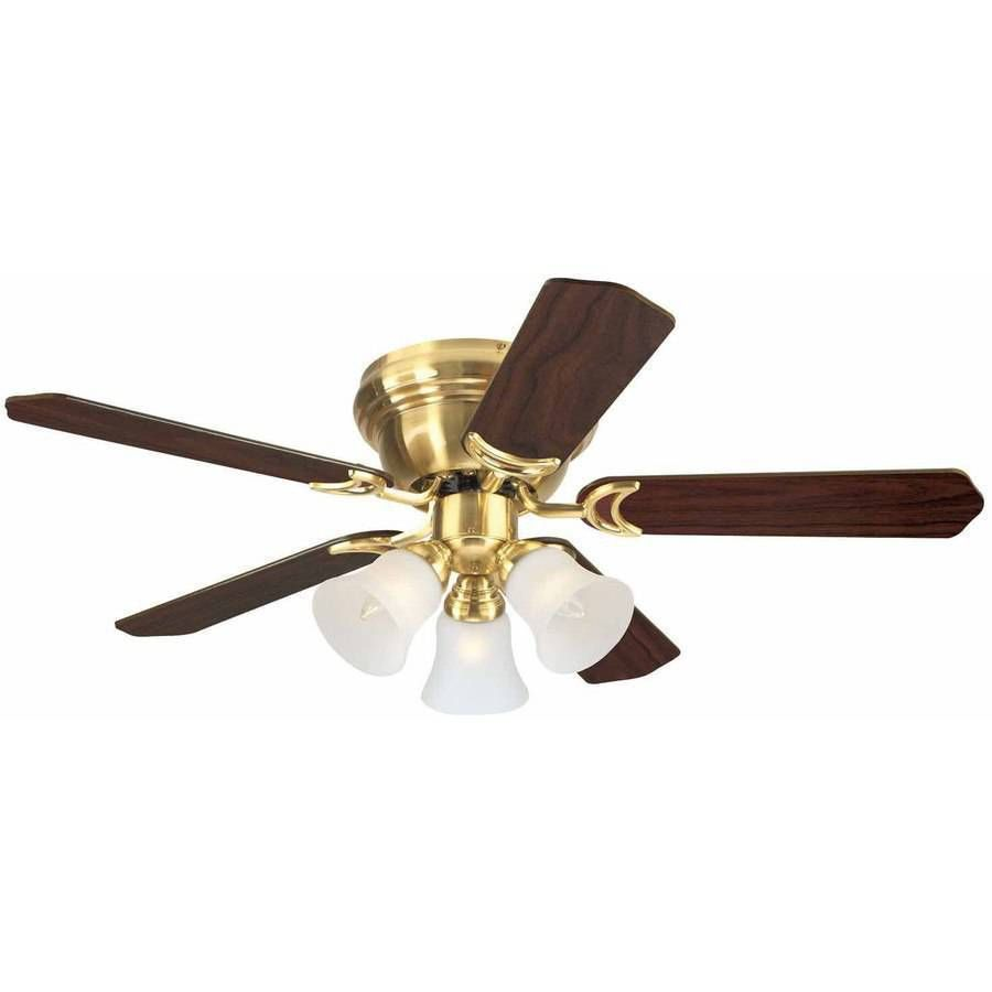 Pin By Usa Select Commerce On Appliances Brass Ceiling Fan Ceiling Fan Hugger Ceiling Fan