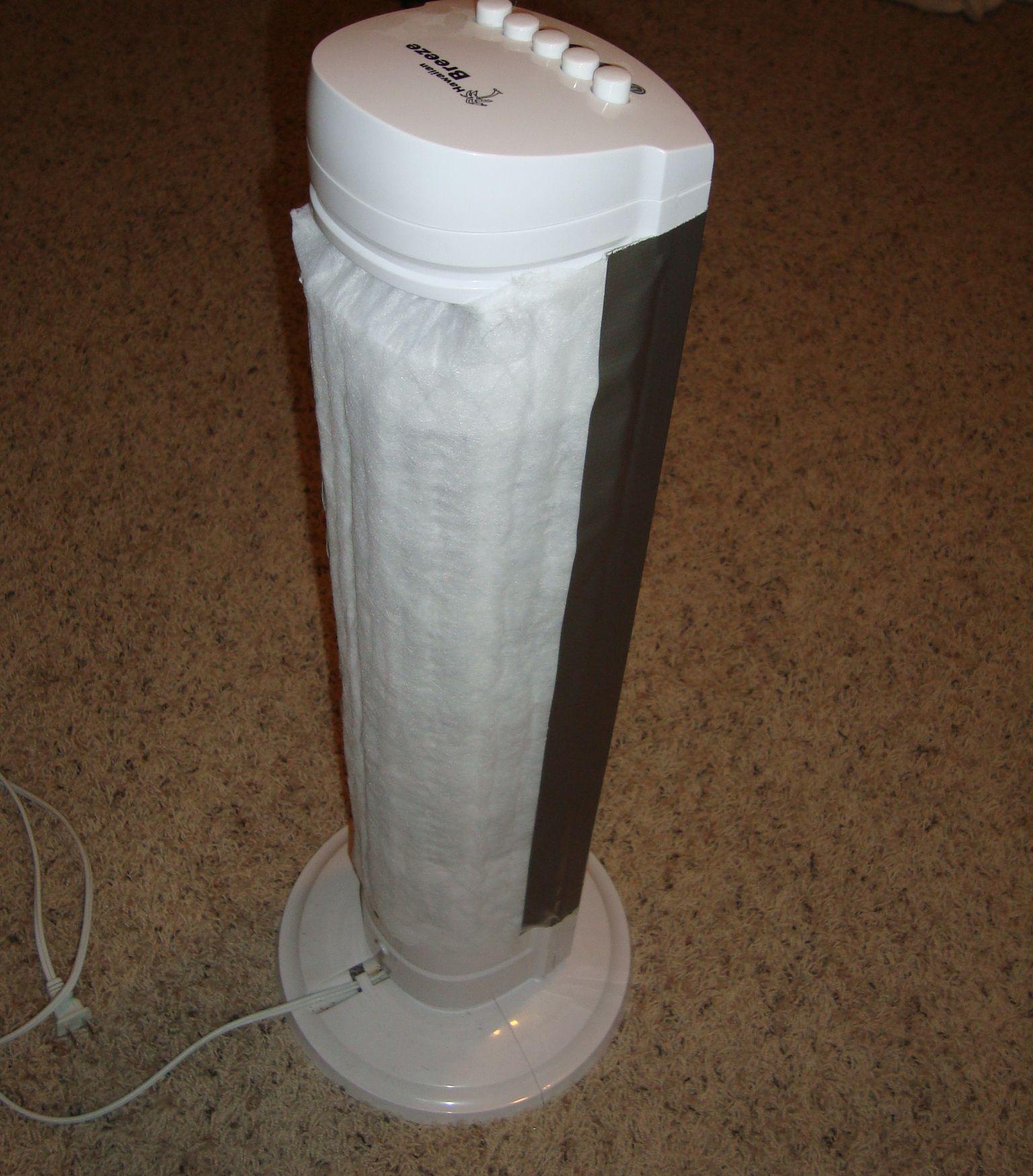 Homemade Air Purifier & Cat Litter Box Air Filter