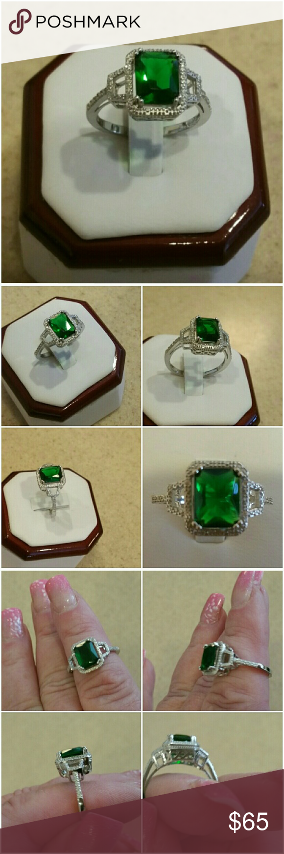 ring carat diamond cut engagement watch youtube emerald