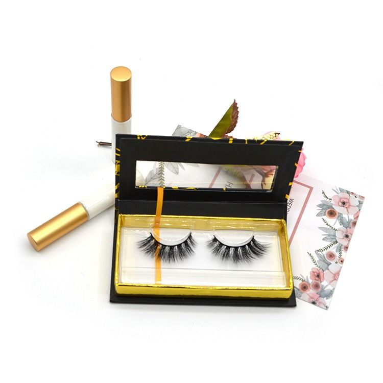 Mikitom Mink Lashes Mink Lashes Eyelashes Custom Packaging Boxes