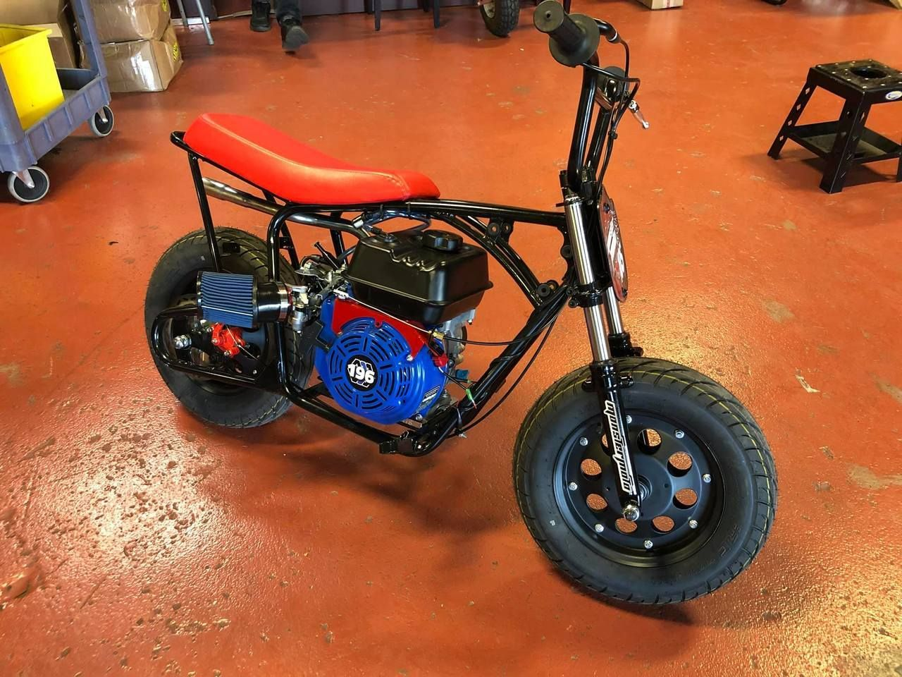 Minibike Suspension Kit, Complete Front Fork Assembly