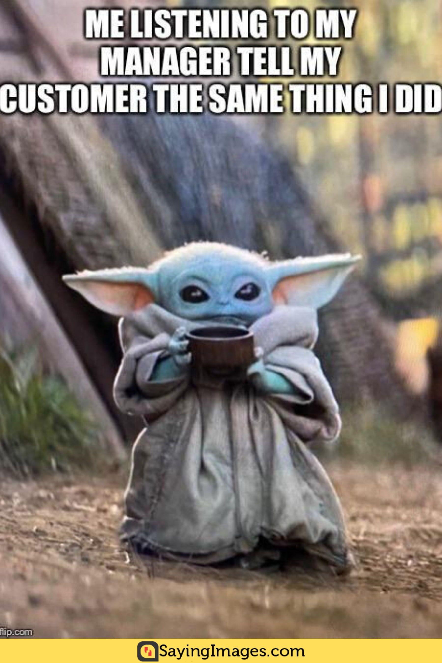 25 Super Adorable Baby Yoda Memes Yoda meme, Funny