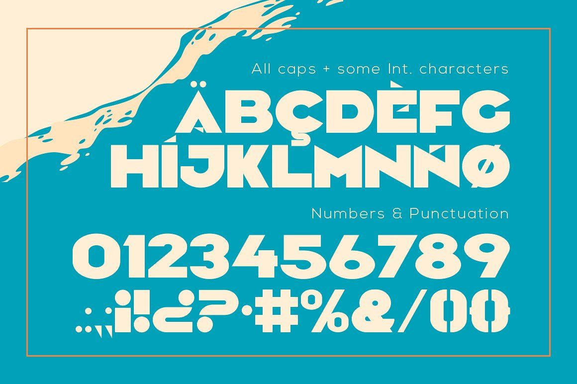 Camar Vintage Font Vintage Fonts Creative Words All Caps Font