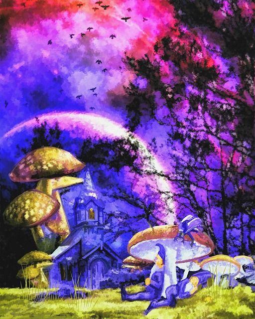 Free Image on Pixabay - Elves, Surreal, Fantasy, Landscape