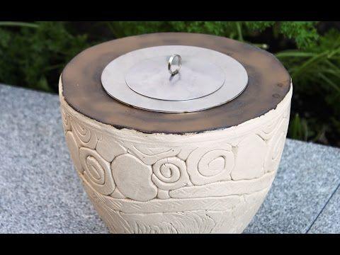 Keramik Ethanol Licht - YouTube
