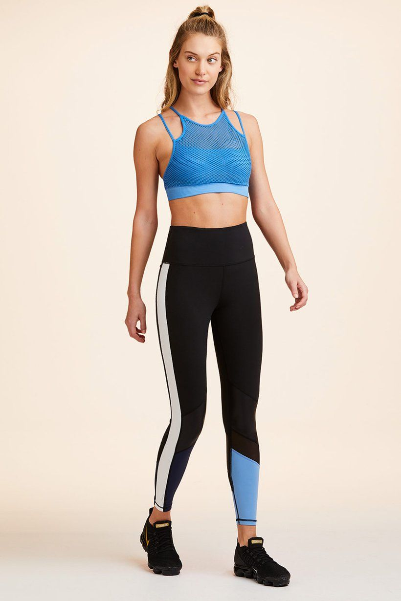 Seamless Layer Bra Azure in 2020 Blue sports bras