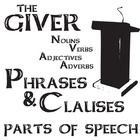 THE GIVER Phrases and Clauses (Noun, Verb, Adjective