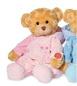 Peluches hermann-teddy Ours teddy pyjama rose 39 cm Kind of traditional but still cute  #teddy #nounours #doudou