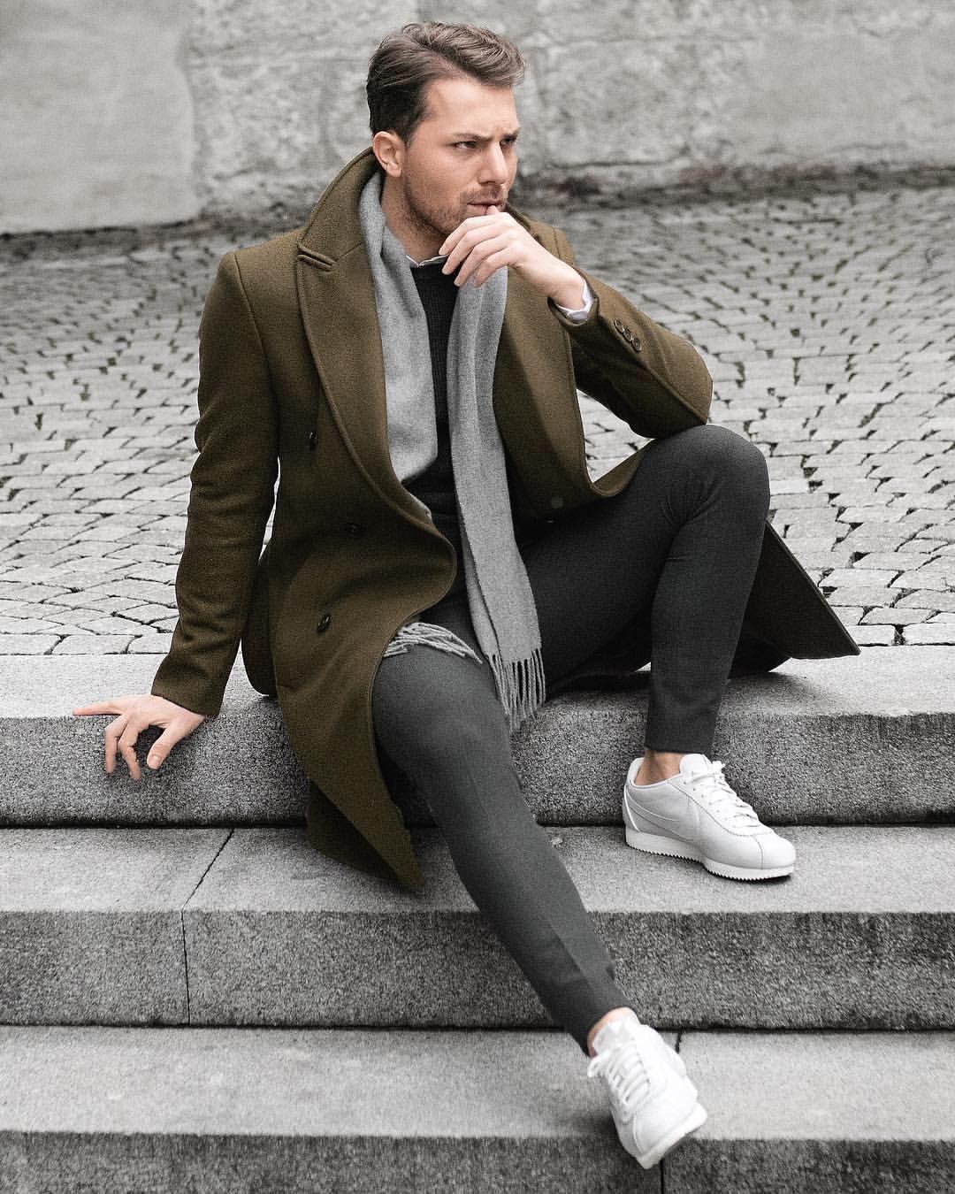 CASACOS ALONGADOS – TENDÊNCIA PARA INVERNO 2018 – Moda Homem