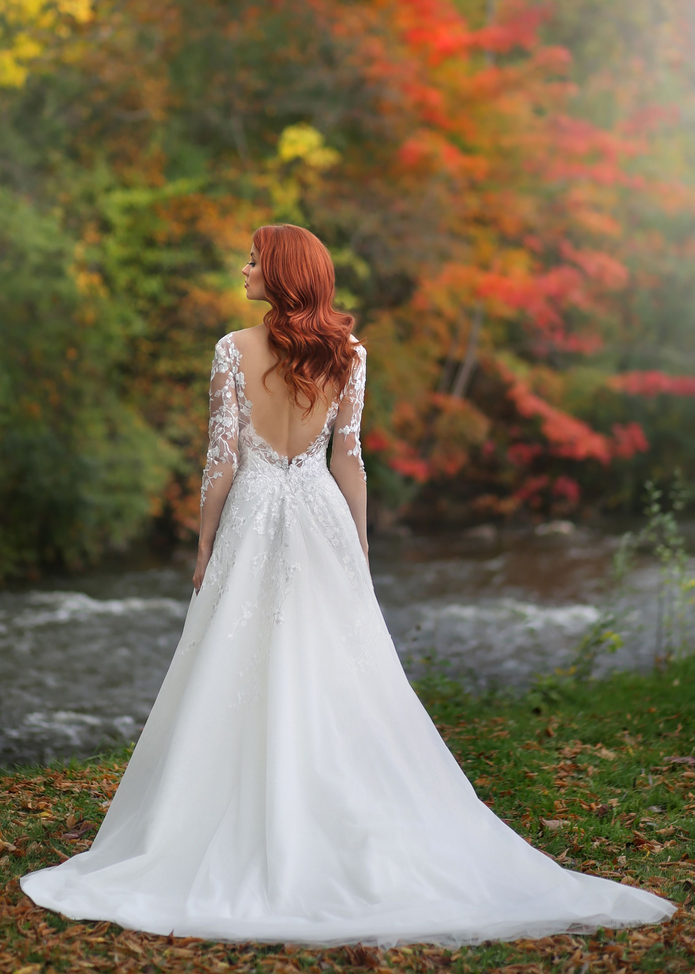 Marisa Bridals Low Back Long Sleeves Wedding Dresses From Solutions