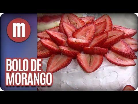 Mulheres - Bolo de morango gelado - 28/10/2013 - YouTube