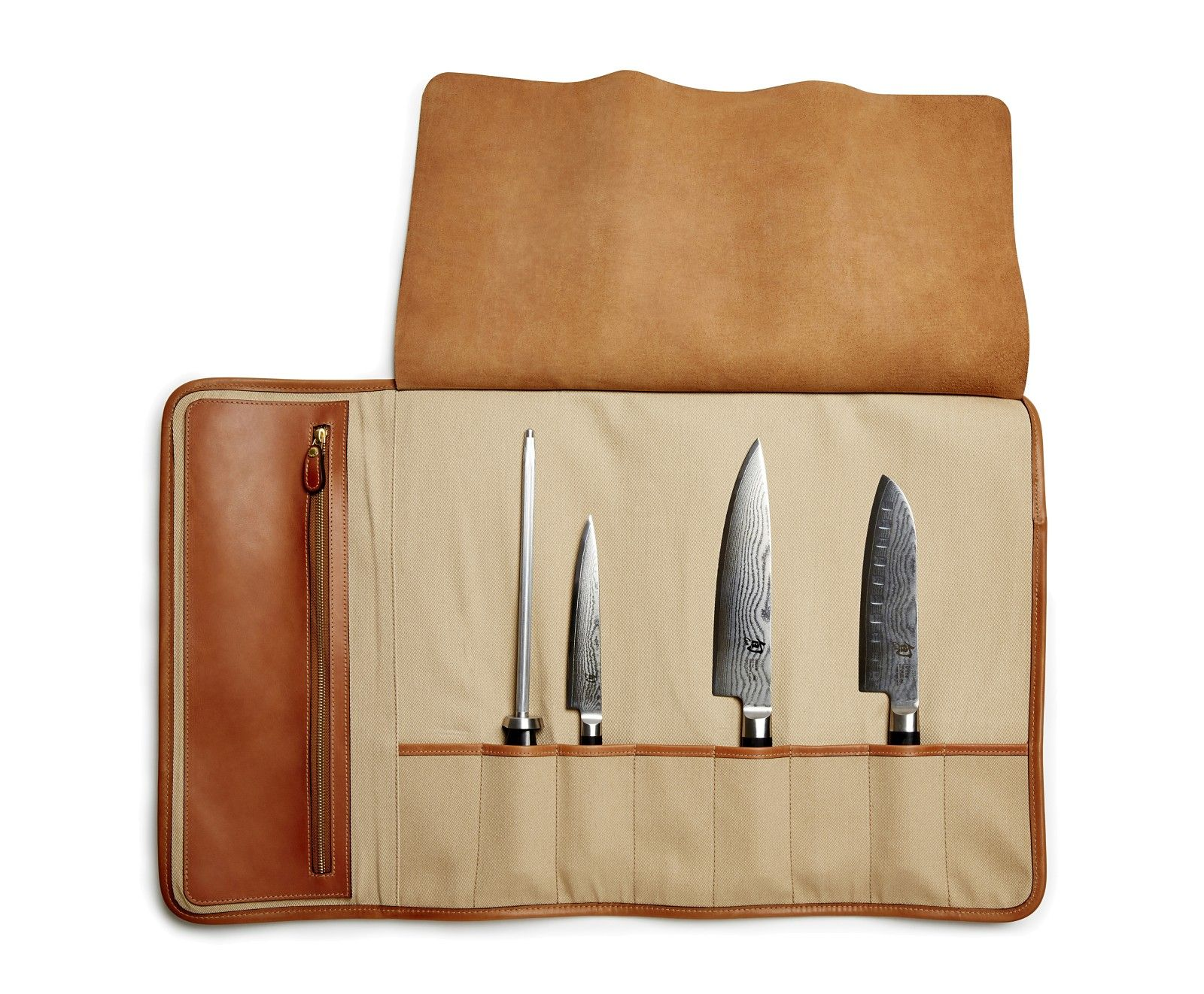 Fundas Para Cuchillos De Cocina Chef S Knife Roll No 246 Roll Chef Knife Leather Y Cutlery