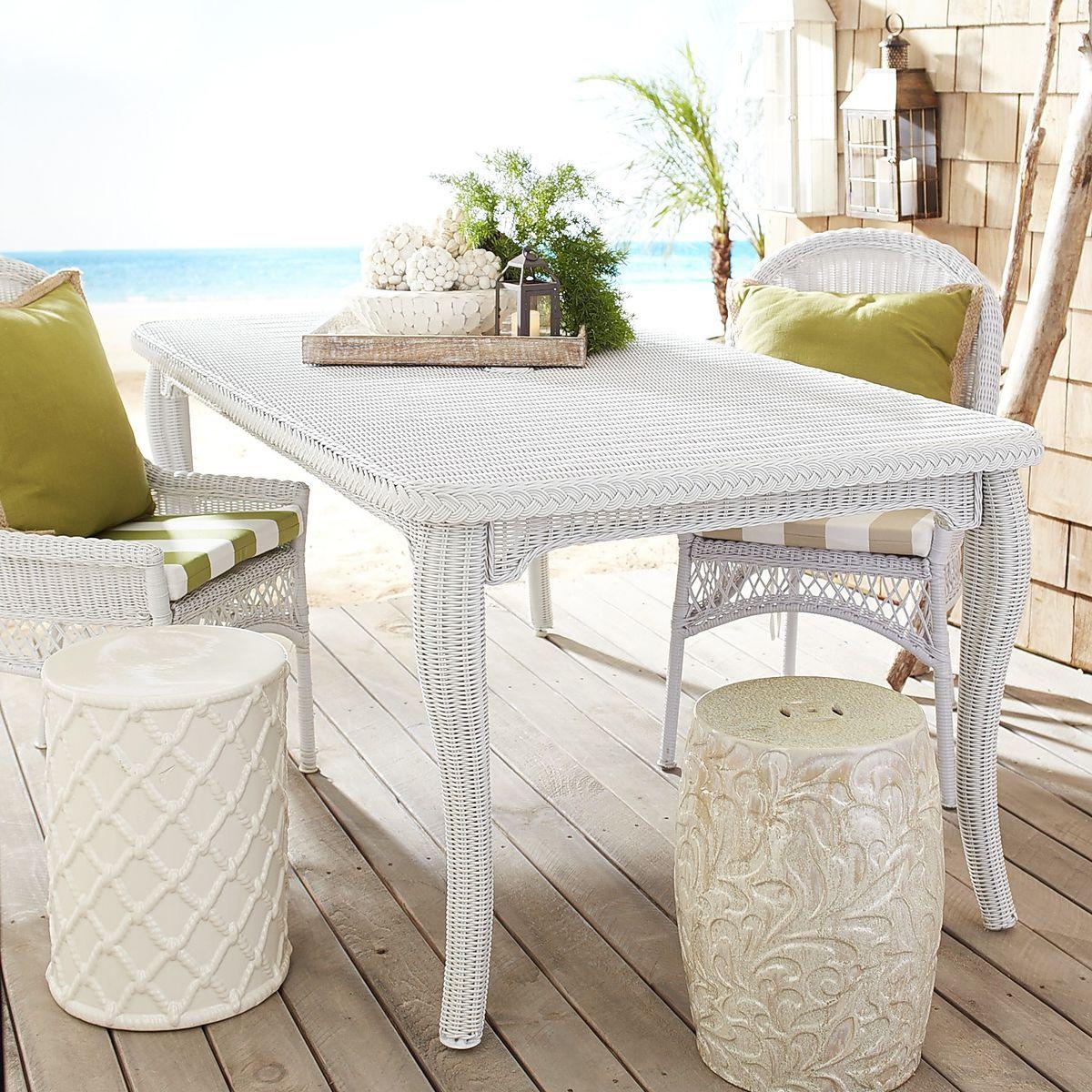 Santa Barbara Dining Table - White