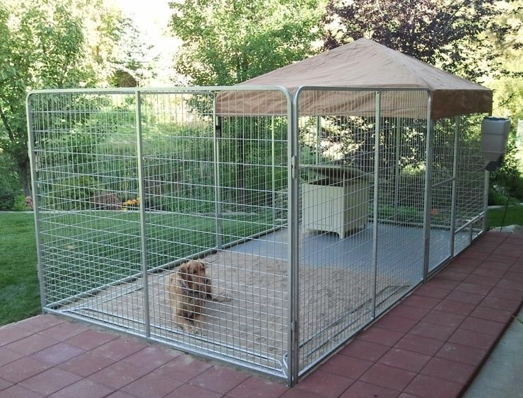 K9 kennel store ultimate modular professional dog run http for Dog breeding kennel design