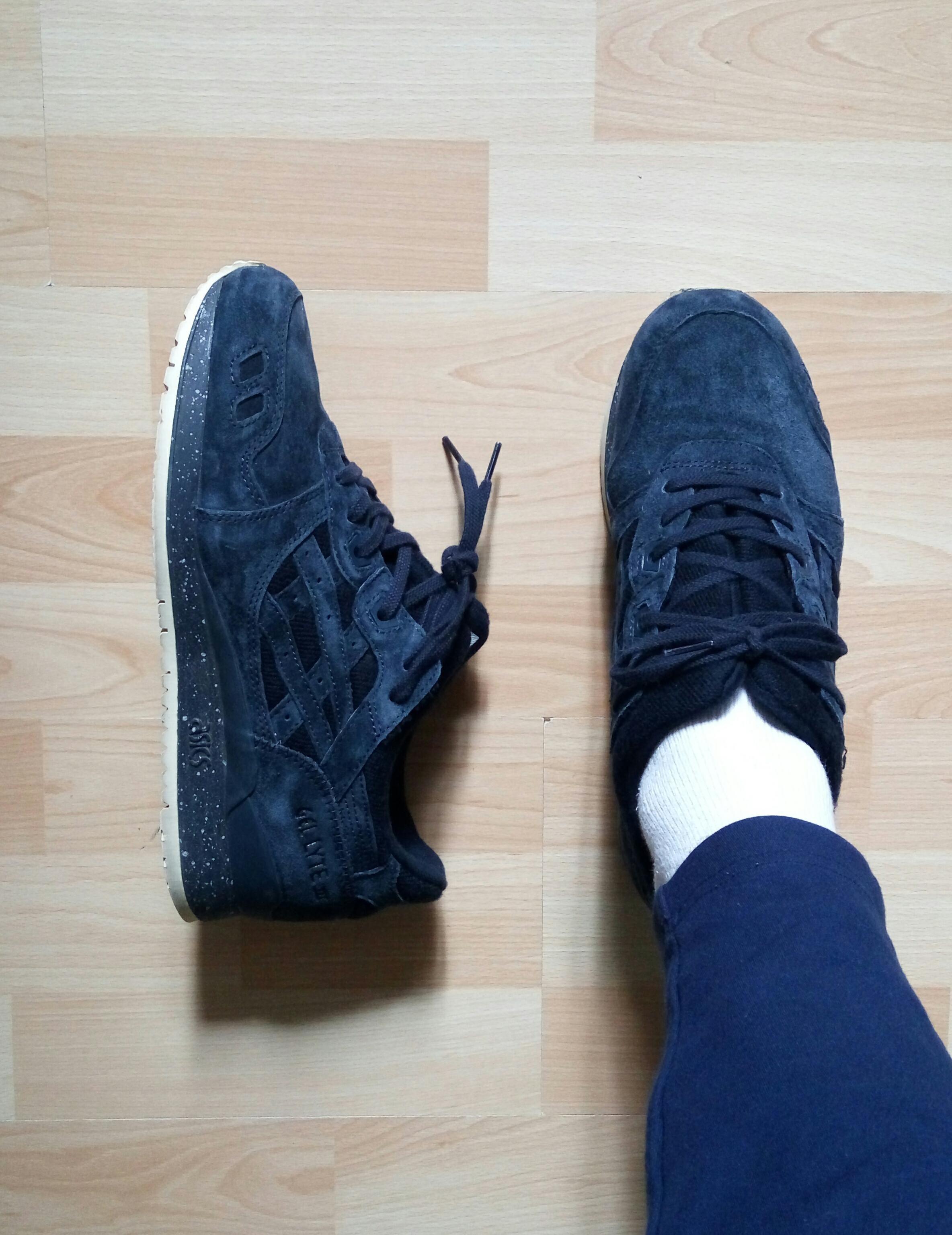6edf02285e0 WDYWT] Asics Gel Lyte III X Reigning Champ Navy   Nike Sneakers ...