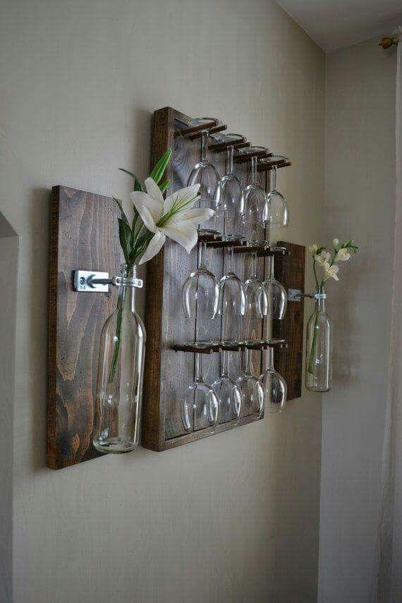 Lindinho adegas pinterest estantes de vino madera y hogar - Estantes para vinos ...