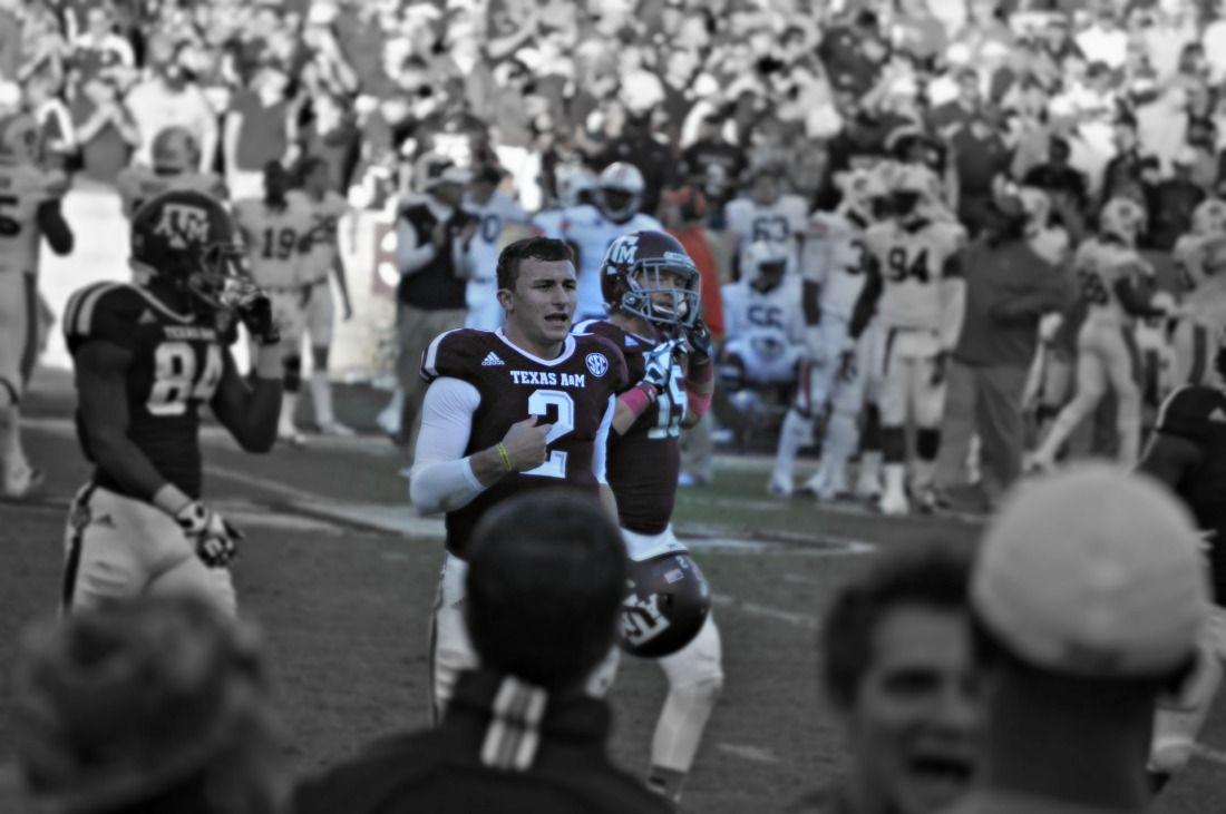 Johnny Manziel or Johnny Football Texas A&M\'s quarterback | SEC ...