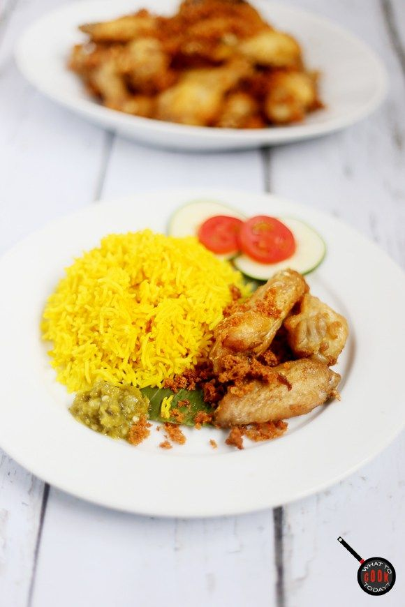 Nasi Kuning Rice Cooker : kuning, cooker, Turmeric, Kuning, Recipe,, Bloggers, Central,, Cooking
