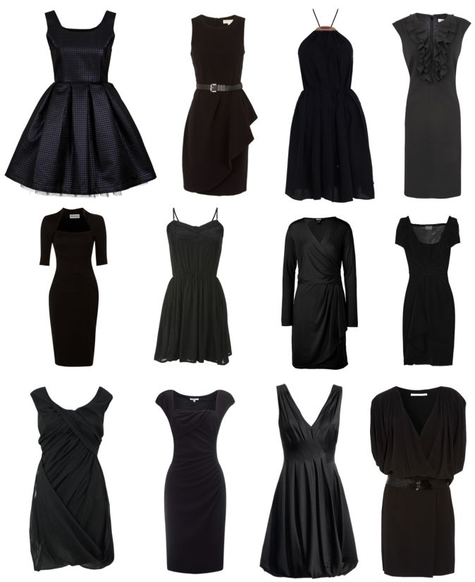the little black dress | The Little Black Dress | Pinterest | A ...
