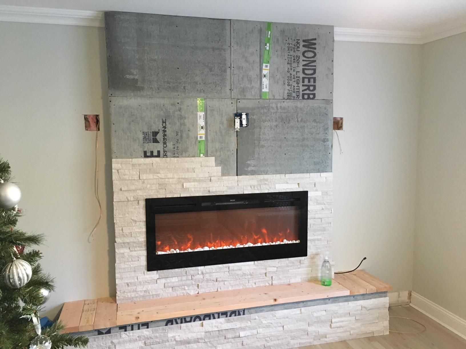 Amazon Com Gibson Living Gl2050ws Sydney 50 Inch Pebble Recessed Pebble Wall Mounted Electric Firep Wall Mount Electric Fireplace Fireplace Electric Fireplace