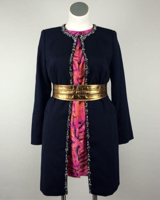 Beaded Evening Coat