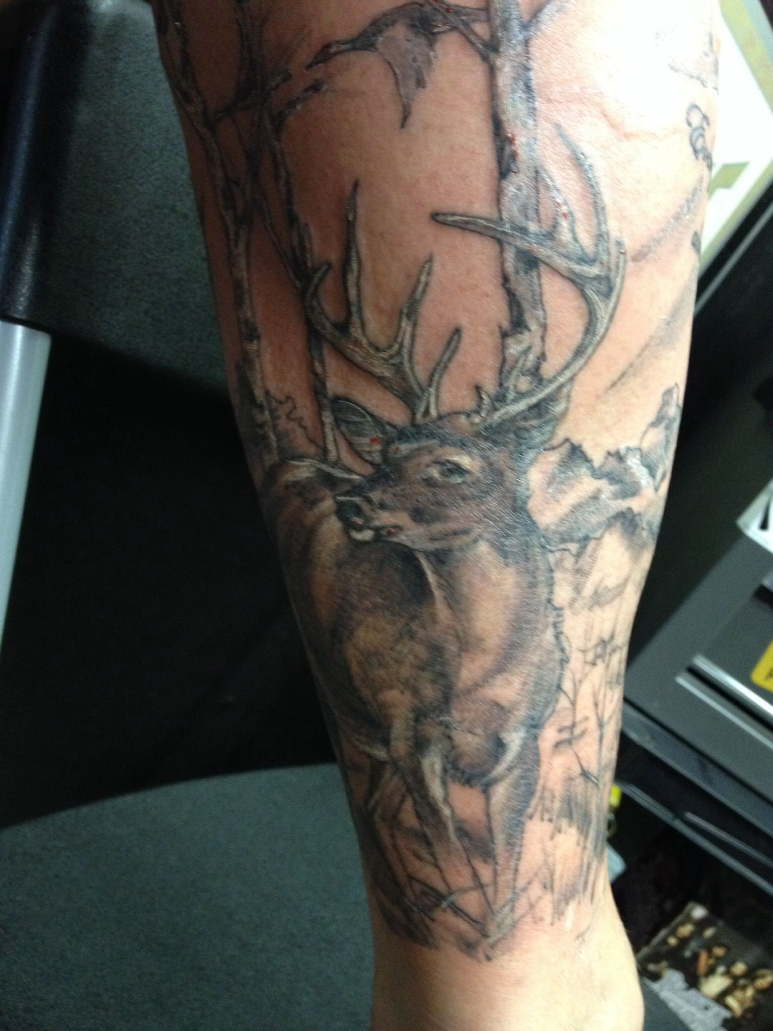 Hunting Tattoo Hunting Tattoos Tattoos For Guys Deer Hunting Tattoos