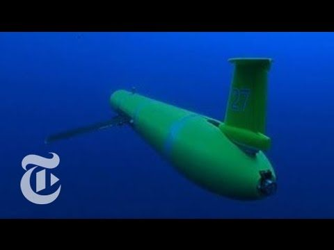 The New York Times: Underwater Drones Gather Data at Sea