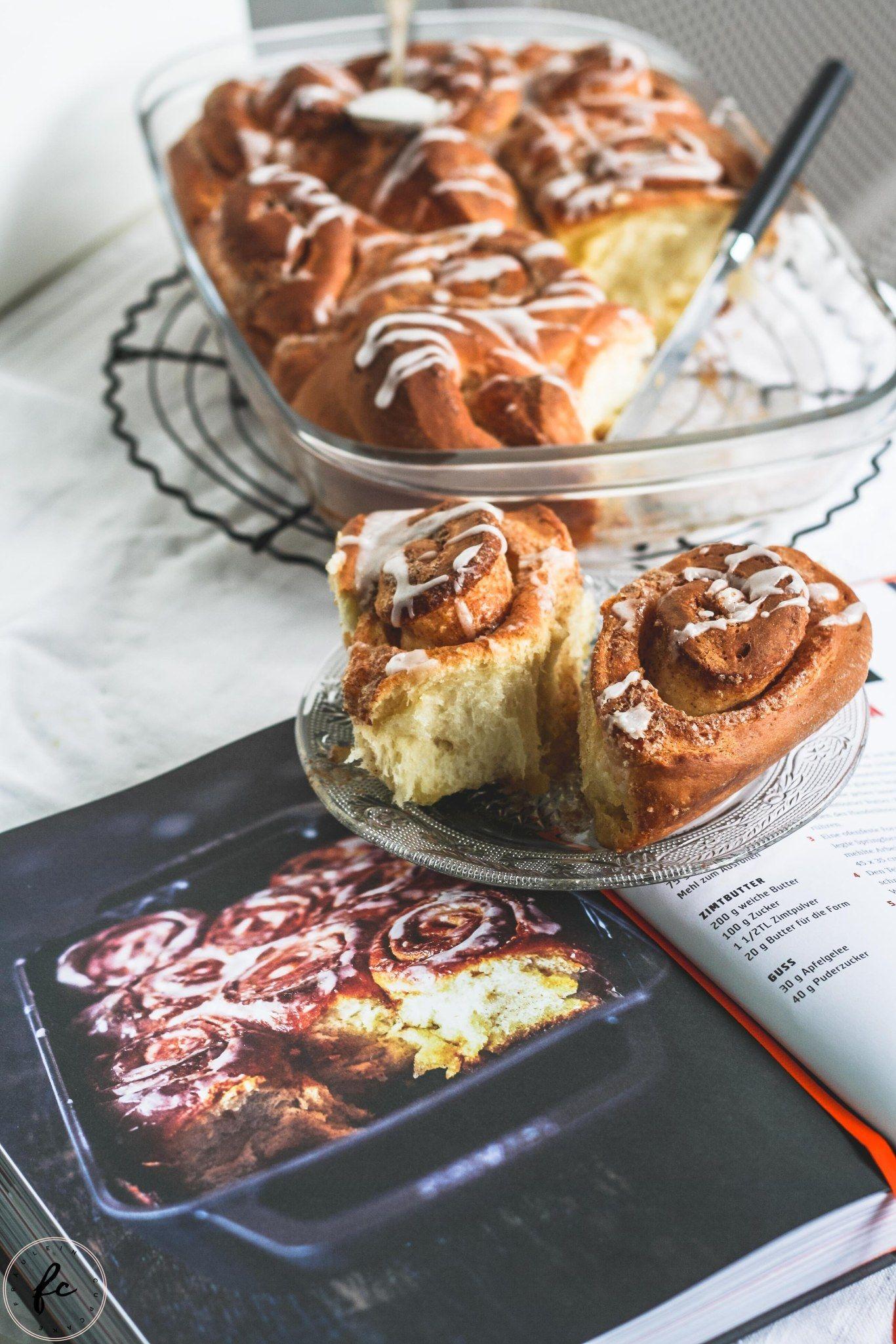 Rezept für Zimtschnecken à la Tim Mälzer und eine Kochbuchrezension (enthält Werbung)