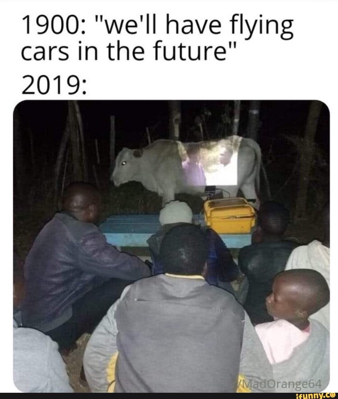 """1900 """"we'll have flying cars in the future"""" iFunny"""