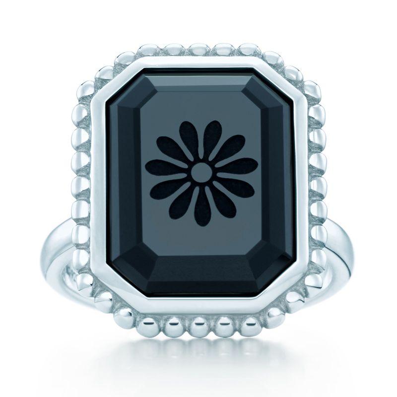 d075c4f0121f8 Tiffany & Co. Ziegfeld Collection daisy ring with a cushion-cut ...