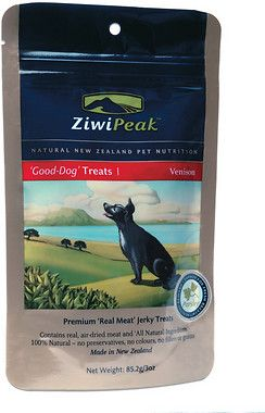 Ziwipeak Good Dog Venison Jerky Dog Treats Dog Treats Best