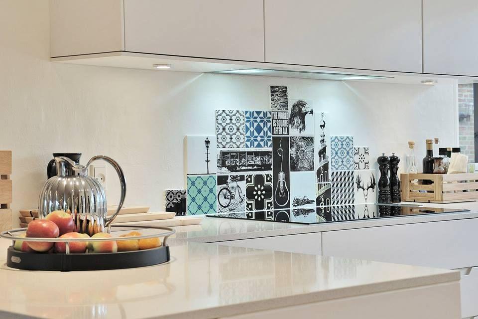 Inspiratie keuken decoratie unieke xnovinky muur keuken decoratie