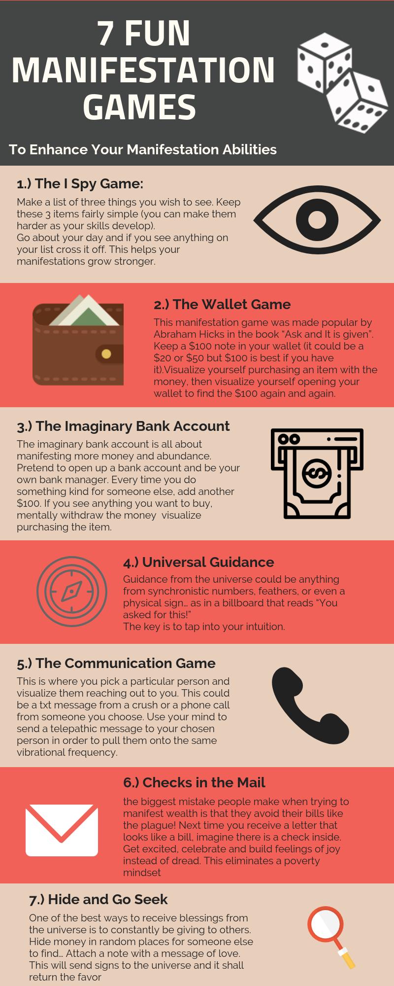 7 Fun Manifestation Games to Enhance Your Manifestation