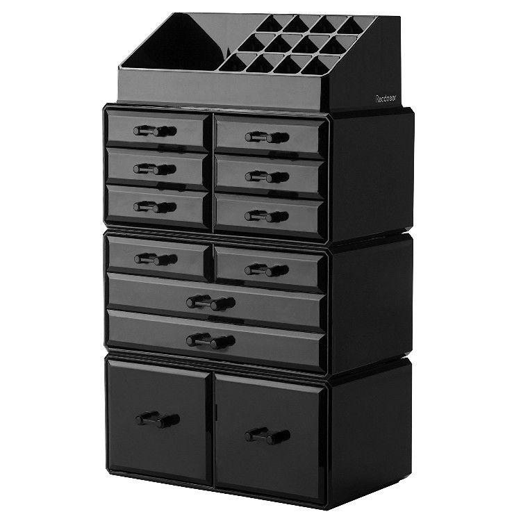 Readaeer Makeup Cosmetics Organizer Makeup Storage Organization Makeup Storage Drawers Acrylic Organizer Makeup