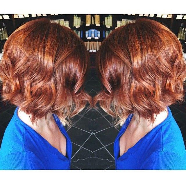 Beautiful copper color! // RedBloom Salon
