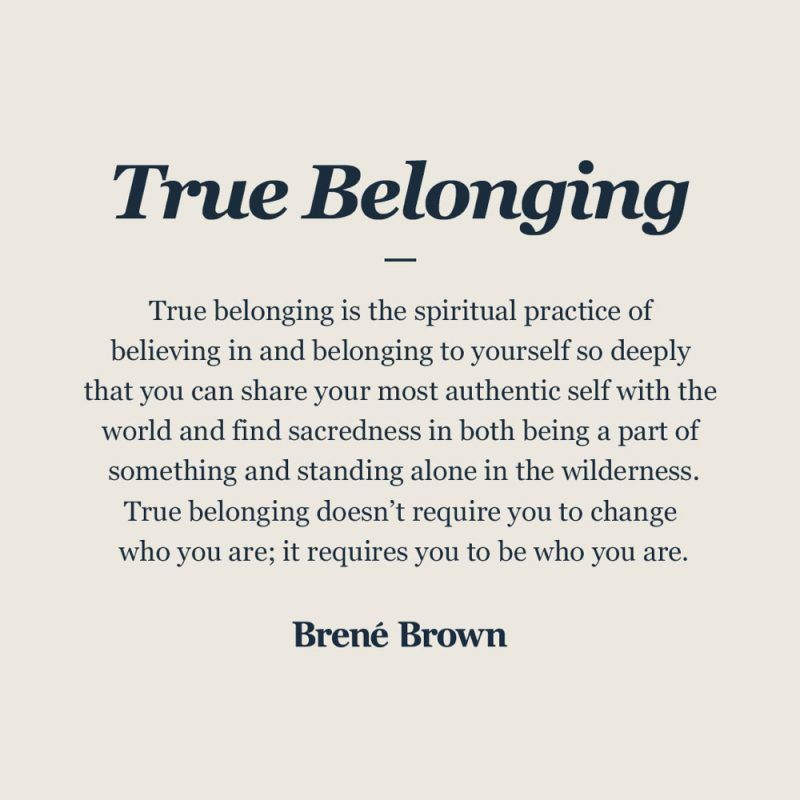True Belonging – Definition