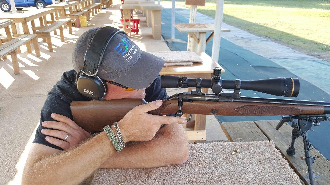 Friday at the range.  Bayou Rifles Addicks Rsnge.   Shooting Suppressed .22s.