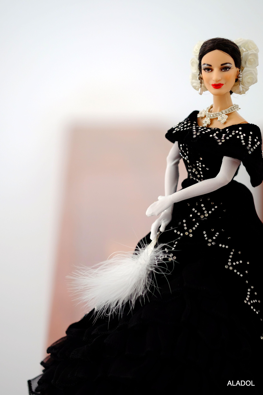 Maria Callas, Traviata, doll OOAK